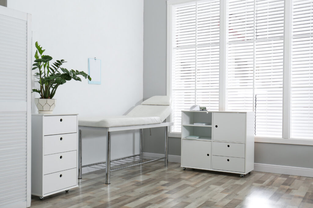 Make a Small Medical Office in Chicagoland Look Bigger, and More Serene