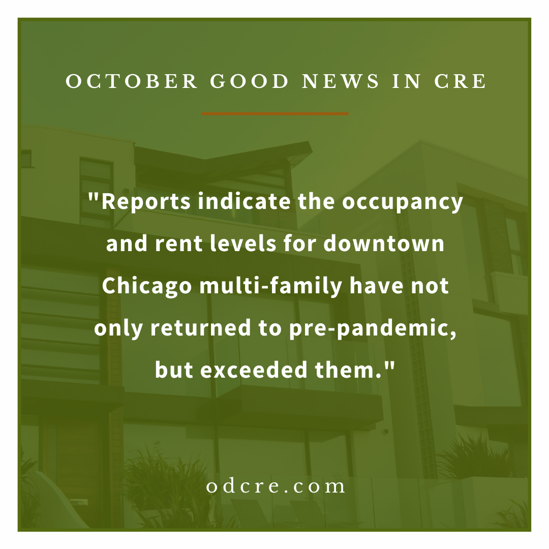 October CRE News